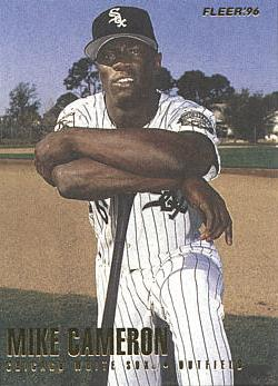 1996 Fleer Update Mike Cameron Rookie Card