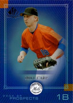 Mike Carp Rookie Card