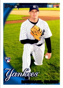 2010 Topps Mike Dunn Rookie Card