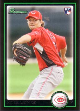 Mike Leake Rookie Card