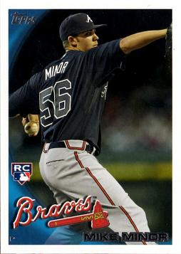 Mike Minor Rookie Card