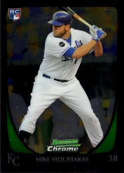 Mike Moustakas Bowman Chrome Rookie Card
