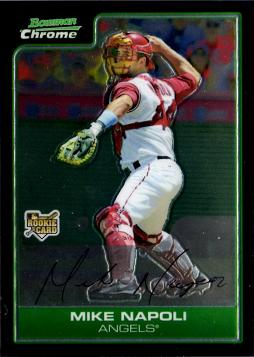 Mike Napoli Bowman Chrome Rookie Card
