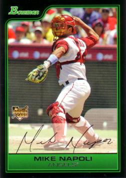 Mike Napoli Rookie Card