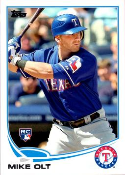 2013 Topps Baseball Mike Olt Rookie Card
