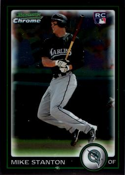 2010 Bowman Chrome Giancarlo Stanton Rookie Card