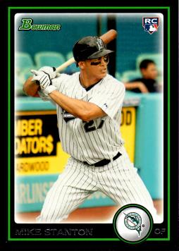 Giancarlo Stanton 2010 Bowman Draft Picks Rookie Card