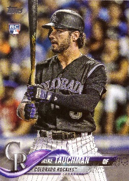Mike Tauchman Rookie Card