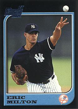 1997 Bowman Eric Milton Rookie Card