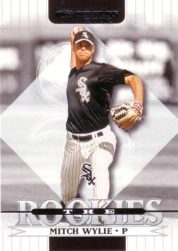 2002 Donruss the Rookies Mitch Wylie Rookie Card