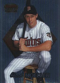 1999 Bowman's Best Chad Moeller Rookie Card
