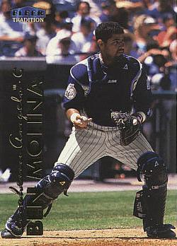 1999 Fleer Update Benjie Molina Rookie Card