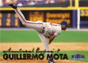 1999 Fleer Update Guillermo Mota Rookie Card