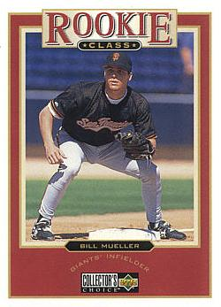 1997 Collector's Choice Bill Mueller Rookie Card