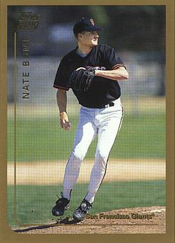 1999 Topps Traded Nate Bump Rookie Card