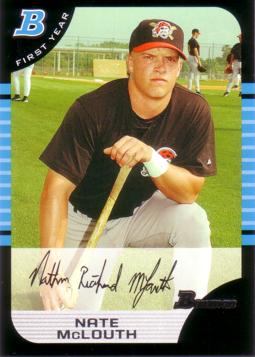 2005 Bowman Nate McLouth Rookie Card