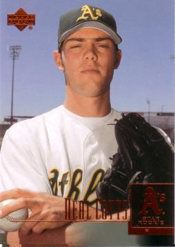 2001 Upper Deck Neal Cotts Rookie Card