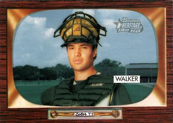 2004 Bowman Heritage Neil Walker Rookie Card