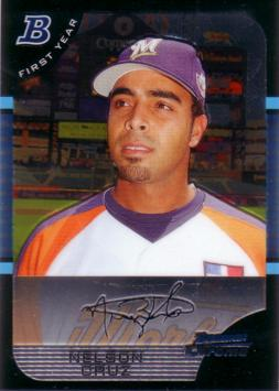 Nelson Cruz Bowman Chrome Rookie Card