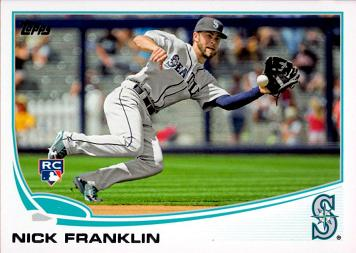 2013 Topps Update Baseball Nick Franklin Rookie Card