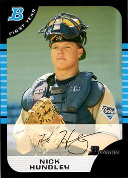Nick Hundley Rookie Card