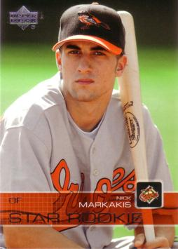 2003 Upper Deck Nick Markakis Baseball Rookie Card