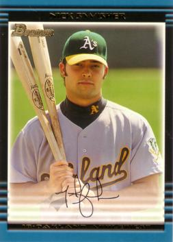 2002 Bowman Draft Picks Nick Swisher Rookie Card