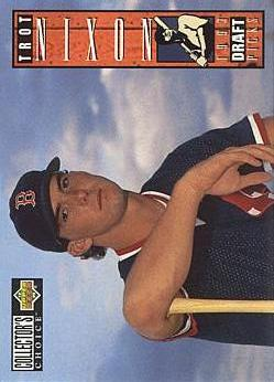 Trot Nixon Rookie Card