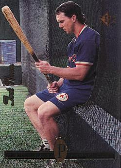 1994 SP Trot Nixon rookie card
