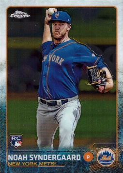 2015 Topps Chrome Noah Syndergaard Rookie Card