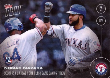 Nomar Mazara Rookie Card