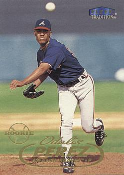 1998 Fleer Update Odalis Perez Rookie Card