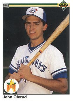 1990 Upper Deck John Olerud rookie card