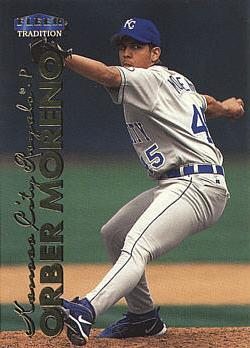 1999 Fleer Update Orber Moreno Rookie Card