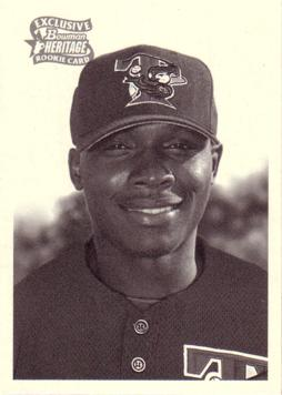 2001 Bowman Heritage Orlando Hudson Rookie Card