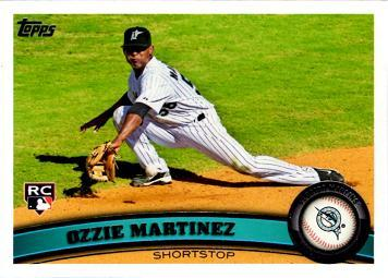 Ozzie Martinez Rookie Card