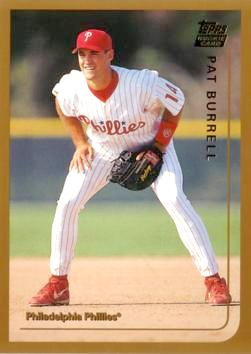 1999 Topps Traded Pat Burrell Rookie Card