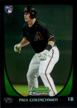 2011 Bowman Chrome Refractor Paul Goldschmidt Rookie Card