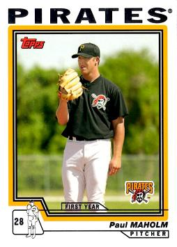 2004 Topps Traded Paul Maholm Rookie Card