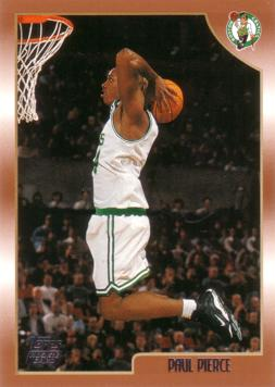 Paul Pierce Rookie Card