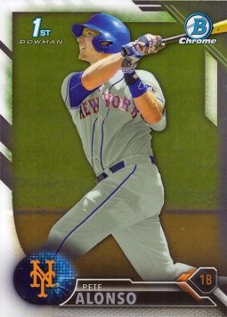 Pete Alonso Pre-Rookie Card