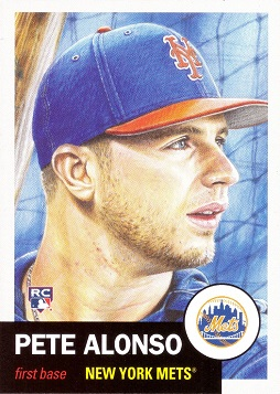Pete Alonso Rookie Card