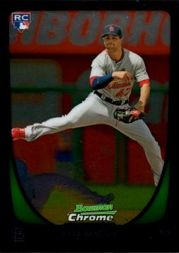 2011 Bowman Chrome Draft Pete Kozma Rookie Card