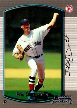 2000 Bowman Draft Picks Phil Dumatrait Rookie Card