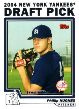 Philip Hughes Rookie Card