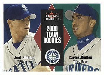 2000 Fleer Update Joel Pineiro Rookie Card