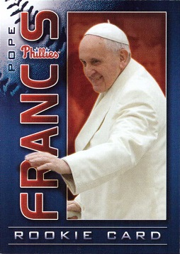 Pope Francis Rookie Card