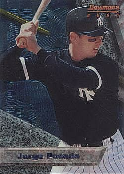 1994 Bowman's Best Jorge Posada Rookie Card