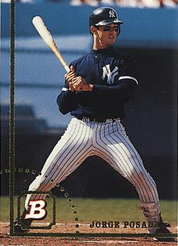 Jorge Posada Rookie Card