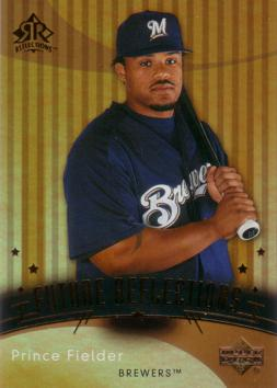Prince Fielder Rookie Card
